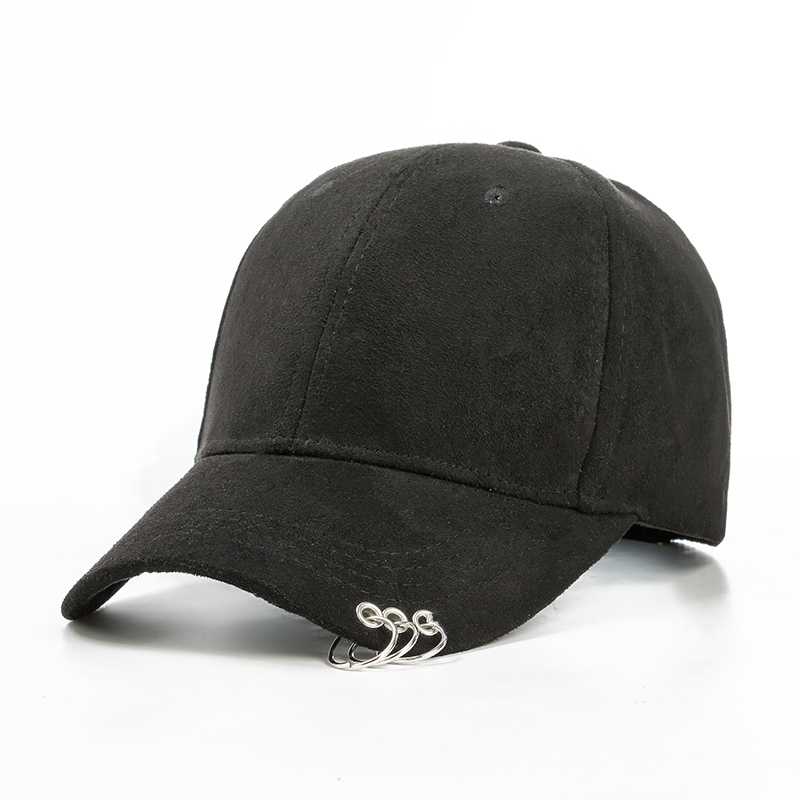 Triple Threat Ring Hat Cap Onyx Bunny