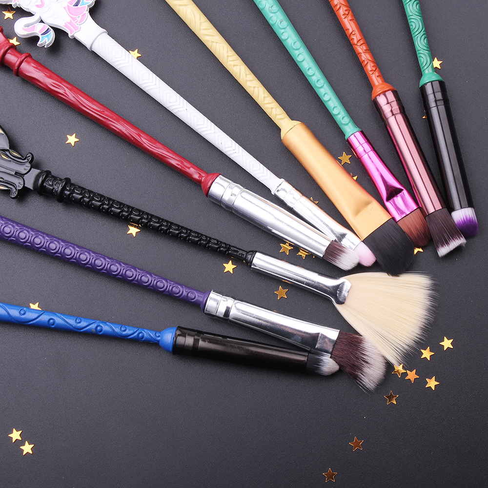 Eevee Evolutions Inspired Makeup Brush Set 9pcs