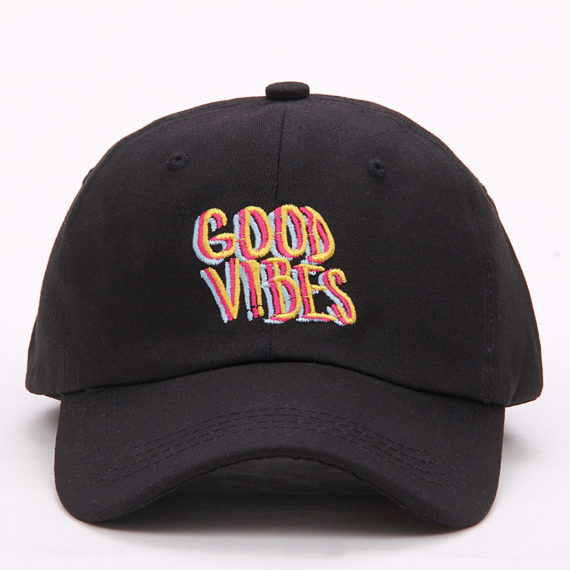 0462267a Good Vibes Psychedelic Hat/Cap