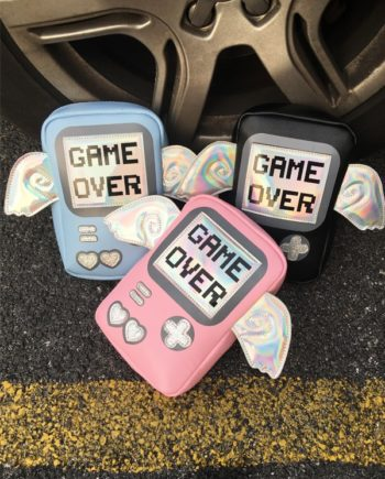 Game Over Holographic Bag4
