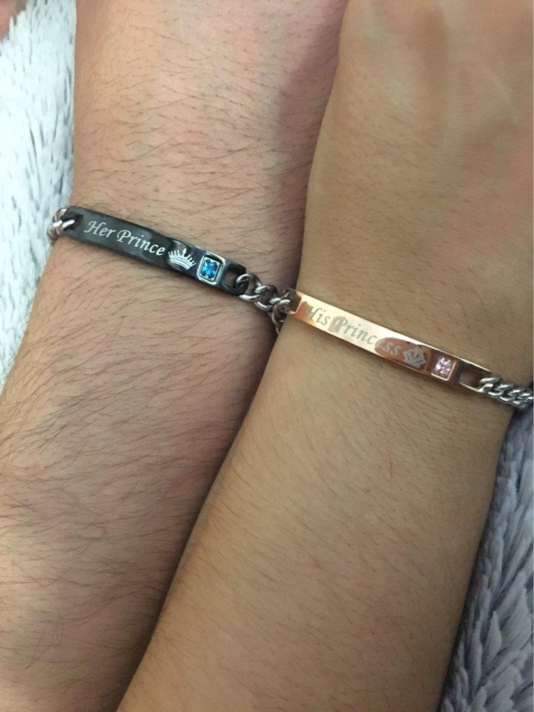 bracelet couple prince