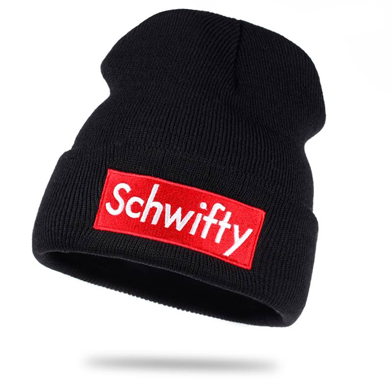 3b3bbde6a1dab Schwifty Rick and Morty Inpired Beanie - Onyx Bunny