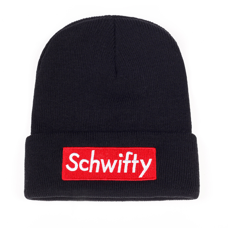 878bc6b7eff Schwifty Rick and Morty Inpired Beanie - Onyx Bunny