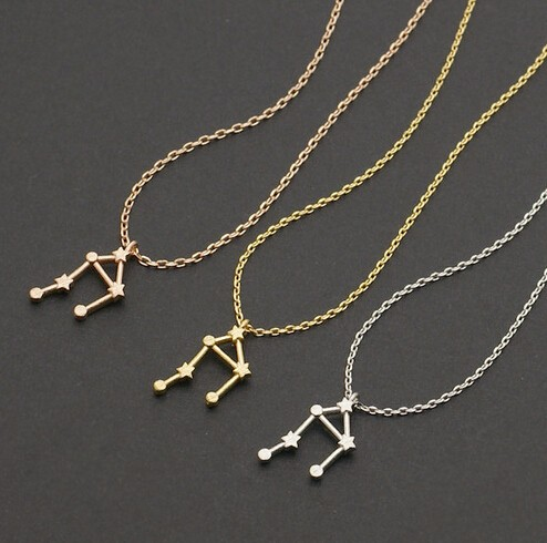 next delivery necklace day product constellation free aquarius orelia