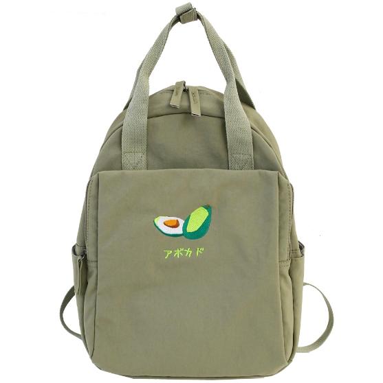 Kawaii Fruits School Bag